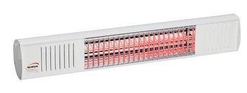 Burda Term2000 COLOR IP67 1,5KW Wit RAL9010