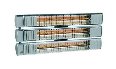 Burda Term2000 3 x 1,65kW Low Glare URCC495V